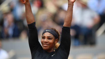 ROLAND GARROS. Serena moeiteloos naar derde ronde - Osaka knokt zich voorbij Azarenka - Halep heeft drie sets nodig