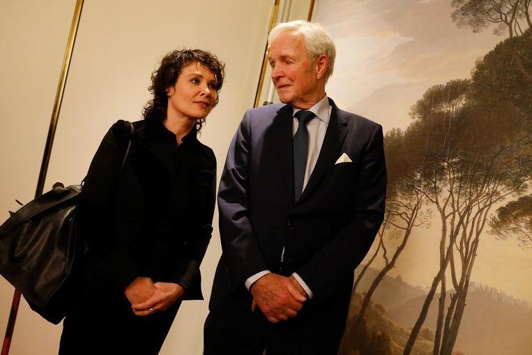 Griet Op de Beeck en Jan Terlouw Beeld anp