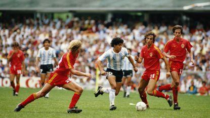 Gestopt door geniale Maradona