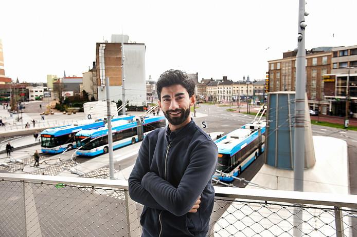 Anwar Manlasadoon (25) in Arnhem.
