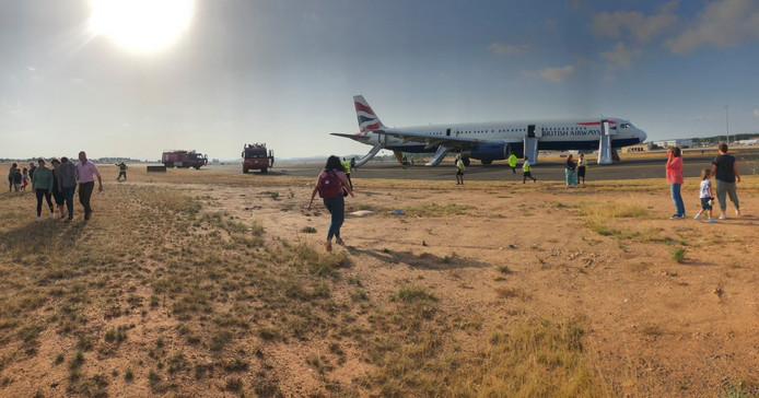 Un avion atterrit d'urgence à Valence