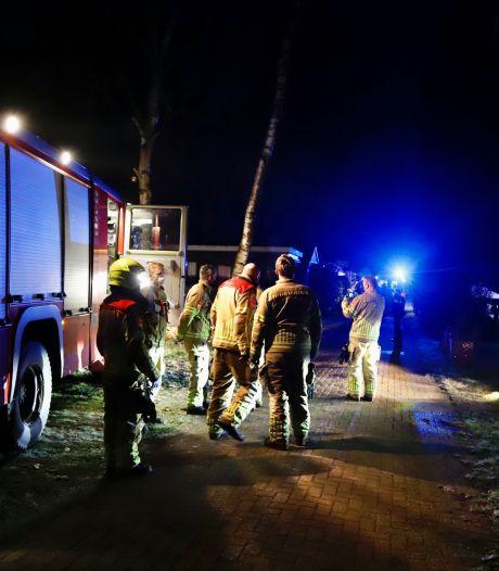 Paniek op de camping: man gewond door aansteken kachel in Heijen