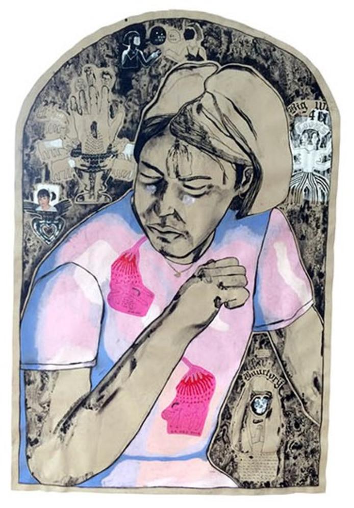 Een van de winnende tekeningen van Esmay Groot Koerkamp