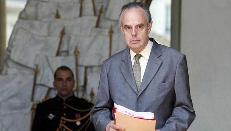 Volgens Mitterrand (foto) zelf is zijn boek deels fictie.Foto EPA Beeld