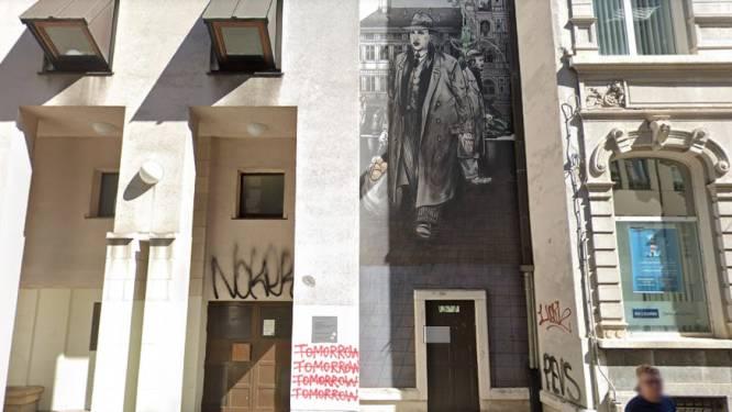 Stripmuur moet graffitivandalisme aan Erfgoedbibliotheek stoppen