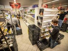 Plus-supermarkt in Weerselo onderweg naar tijdelijke locatie