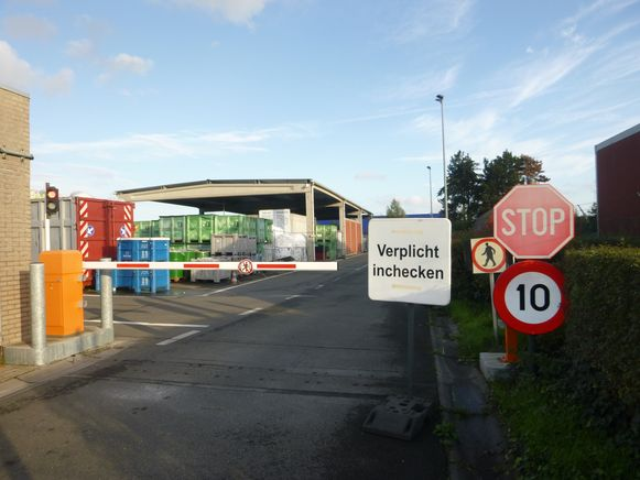 Recyclagepark Evergem.