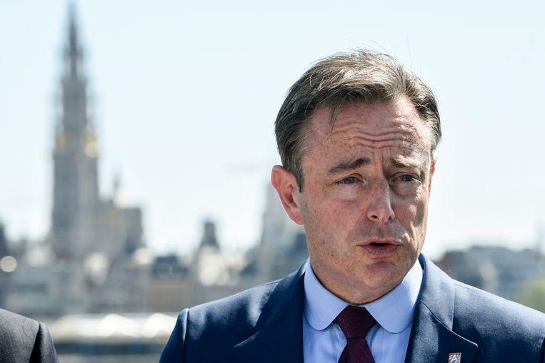 De Antwerpse burgemeester Bart De Wever (N-VA).