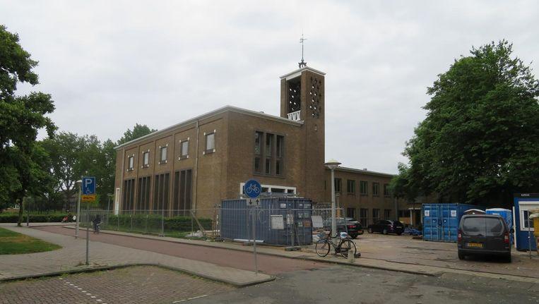 De Augustanakerk tijdens de verbouwing Beeld Diaconie Lutherse Gemeente Amsterdam