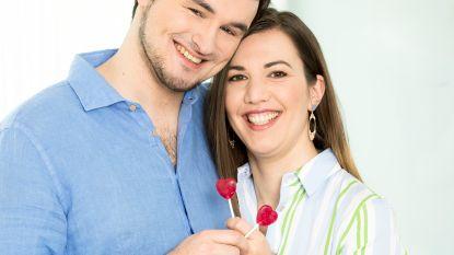 """Evelien en Nicolas uit 'Blind Getrouwd' leren nog elke dag met elkaar om te gaan: """"Hoe langer we samen zijn, hoe meer hij zijn mening durft te zeggen"""""""