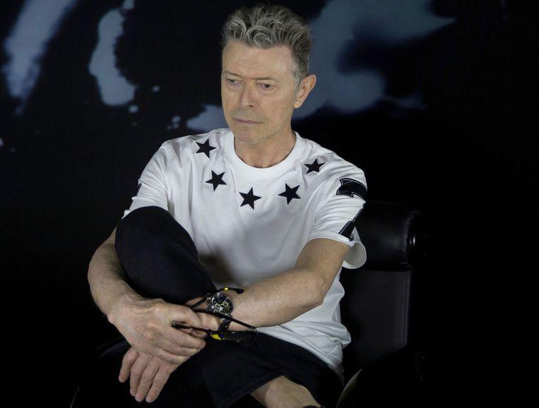 De zanger op een persfoto uit 2015. Beeld David Bowie