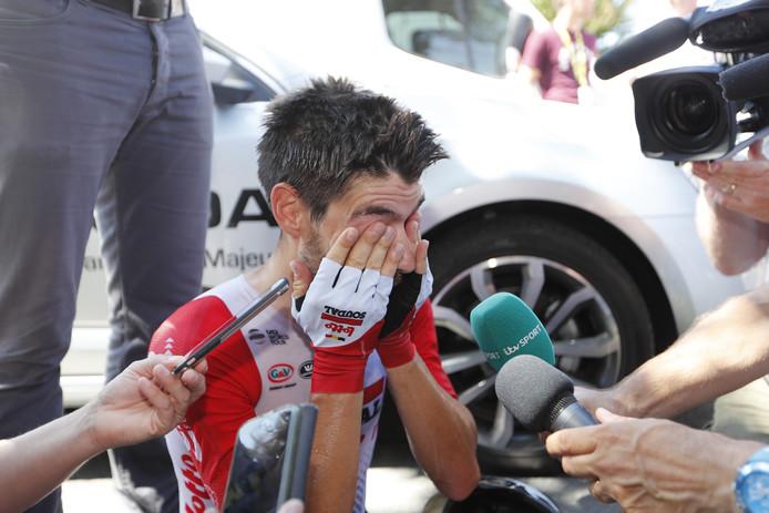 De verrassende nummer drie Thomas De Gendt. De top 3 van de Lezerstour heeft hem in de ploeg.
