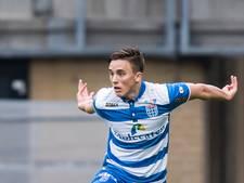Ryan Thomas: begeerd middelpunt van PEC Zwolle