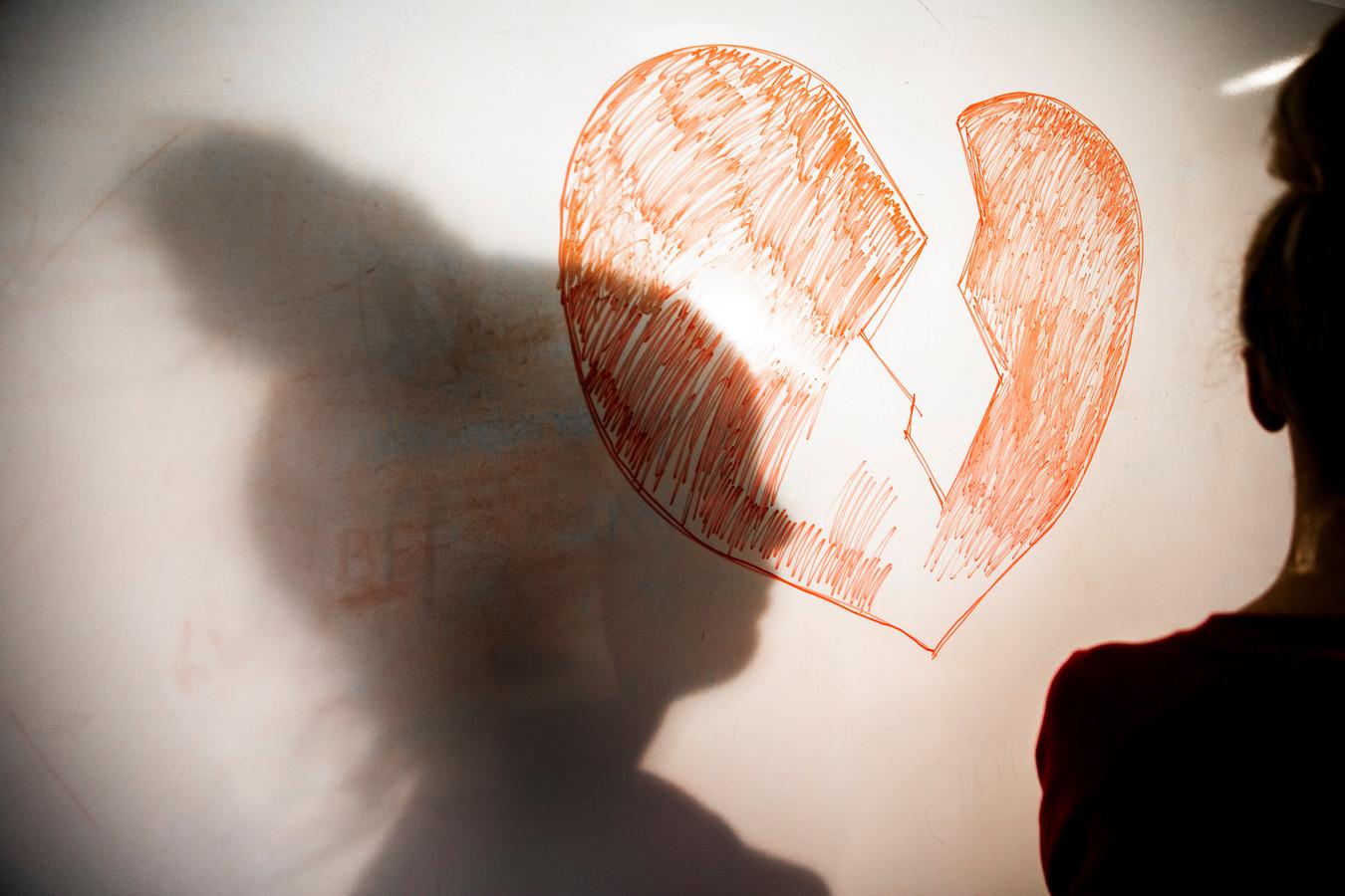 Ter illustratie: een slachtoffer van een loverboy.