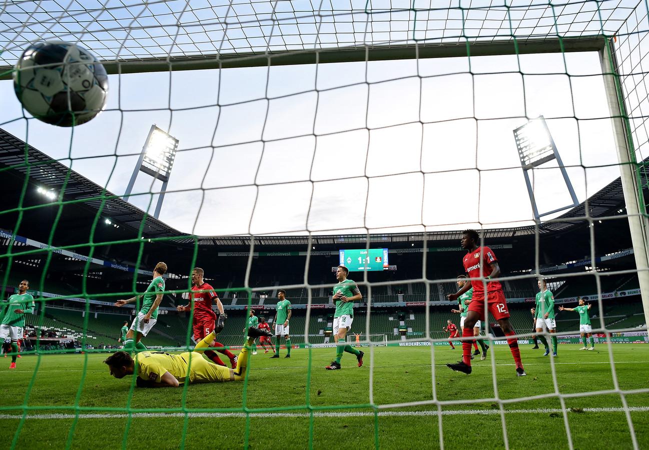 Leverkusen a battu le Werder Brême lundi soir