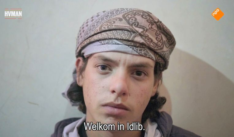 Abu Rakan, 'De stem van Idlib' Beeld