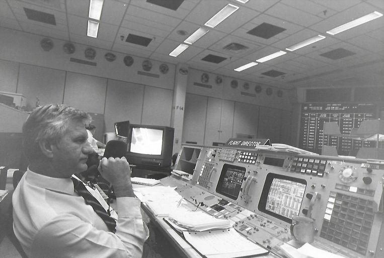 William D.Reeves rond de tijd van de Apollo 13-missie. Beeld