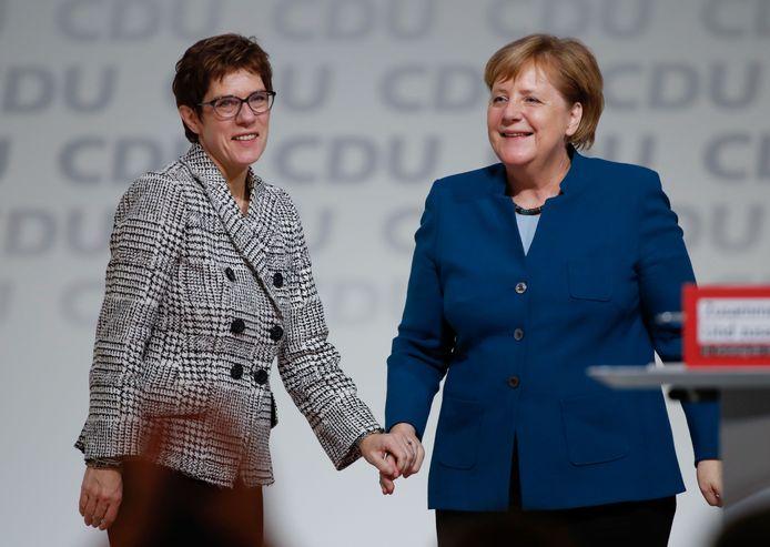 Bij de verkiezing van Annegret Kramp-Karrenbauer als CDU-partijleider in december 2018 leek alles nog koek en ei.