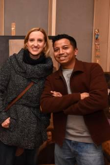 Bezoekers Gorcums Museum ontmoeten schildertalent Ruben