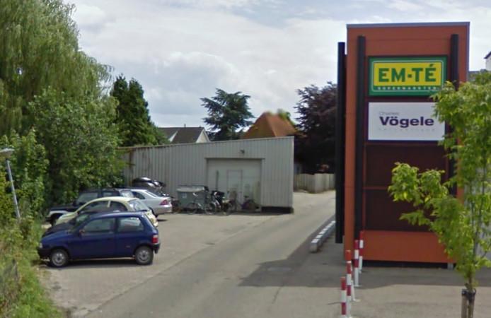 Stationsplein in Hulst