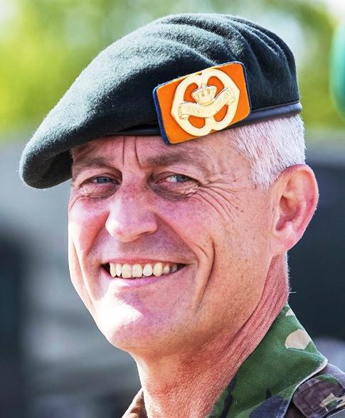 Brigadegeneraal Roland de Jong.