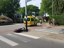 Scooterrijder raakt gewond bij aanrijding in Bennekom
