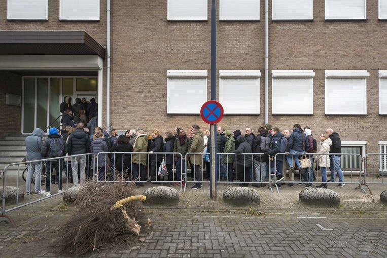 Er was grote belangstelling voor de rechtszaak tegen Willem Holleeder in maart van dit jaar.  Beeld ANP