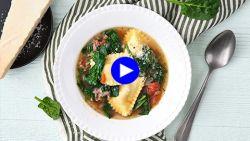 Combineer soep en pasta tot dit ultieme en ultrasnelle bordje comfortfood