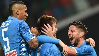 LIVE. Neemt Napoli met Mertens na rust verder afstand van Udinese?