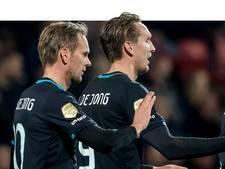De Jong en De Jong alsnog op stoom bij PSV