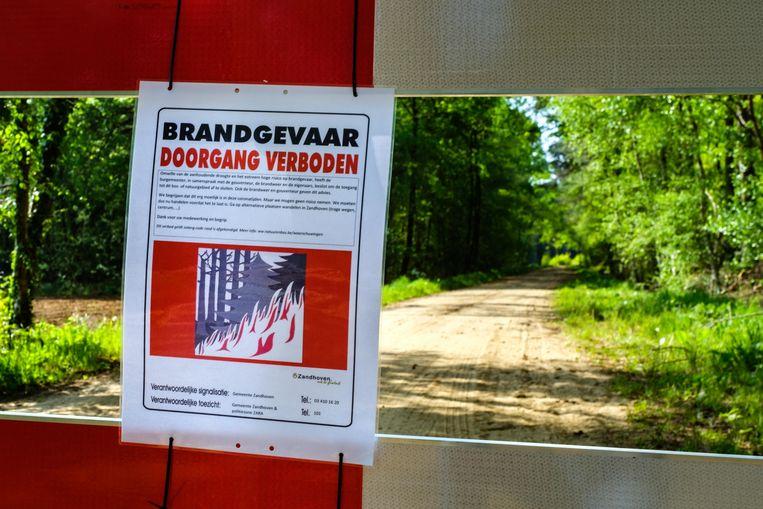 De burgemeesters van Zandhoven, Grobbendonk en Vorselaar hebben beslist om natuurgebied De Lovenhoek volledig te sluiten omwille van brandgevaar.