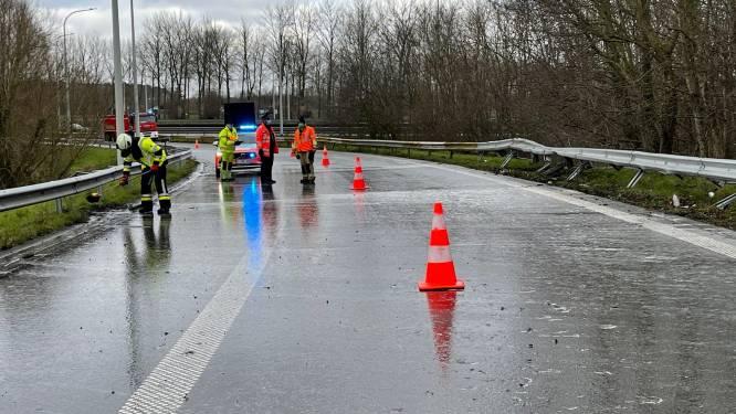 Afrit E40 even afgesloten na ongeval