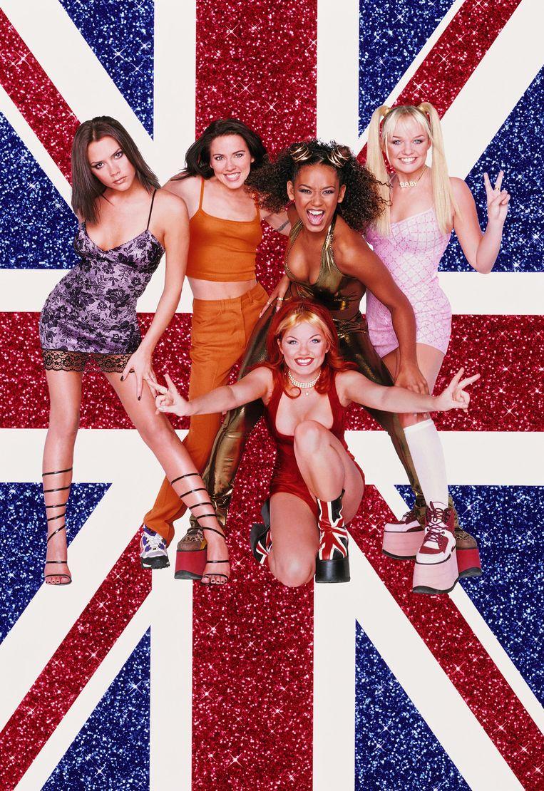 Eentje uit de oude doos: de Spice Girls tijdens hun gloriejaren in de nineties.