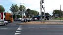 Door afsluiting van de Pleijroute loopt het Nijmeegseplein soms vol, wat verkeer op andere wegen ook vastzet.