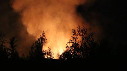Opnieuw brandstichting aan Alvat-site, daders spoorloos