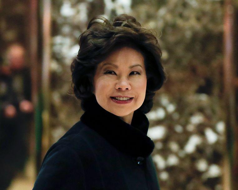 Elaine Chao Beeld null
