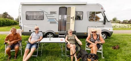 Ook campers zijn straks meer  dan welkom op het Hulsbeek