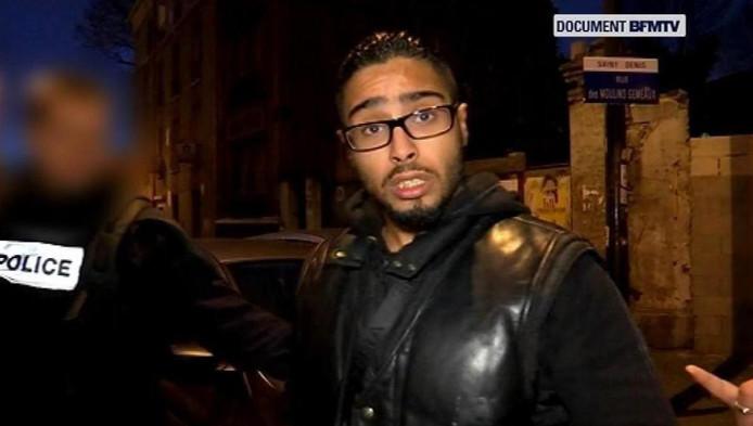 """Jawad Bendaoud est sorti de prison en septembre 2013. Il a été condamné en 2008 à huit ans de prison pour des """"coups mortels"""" sur son meilleur ami. Il était devenu la risée du web après ses premières déclarations faites sur BFMTV (voir sous l'article)."""