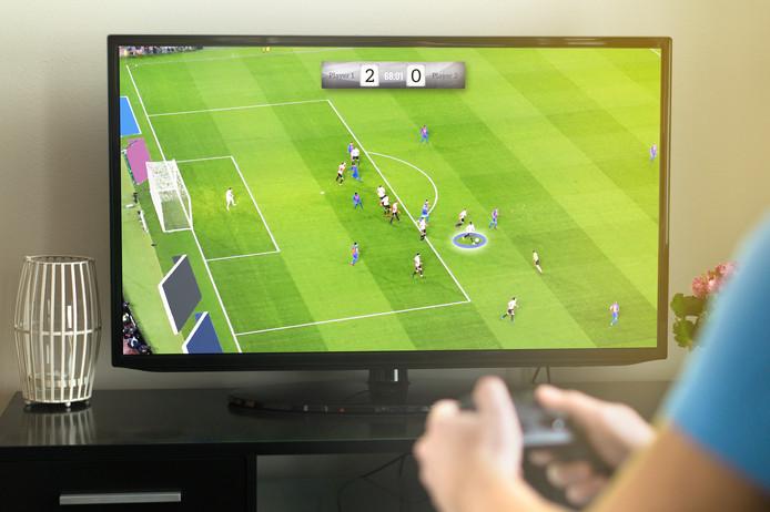 E-sport gamer.