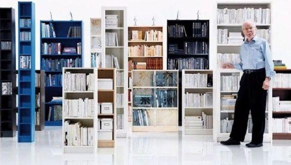 Boekenkast Billy Van Ikea.Ontwerper Ikea Boekenkast Billy Overleden De Volkskrant