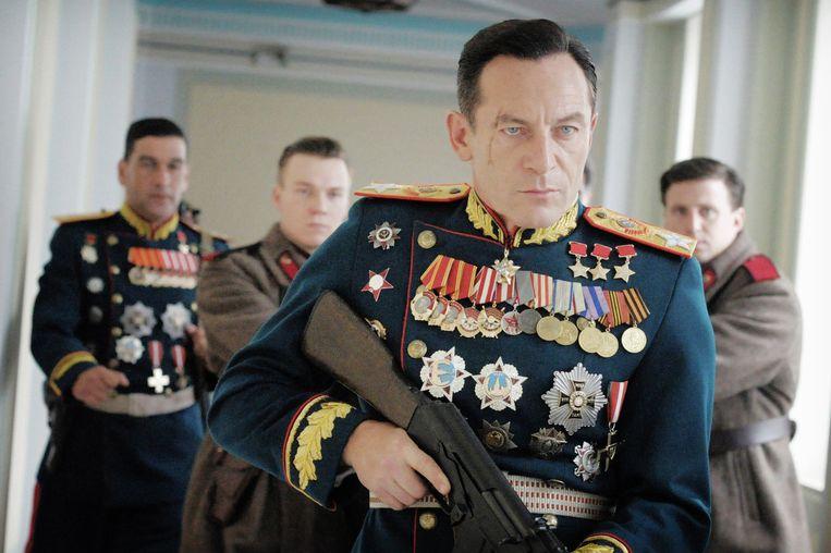 Jason Isaacs in The Death of Stalin van Armando Iannucci Beeld