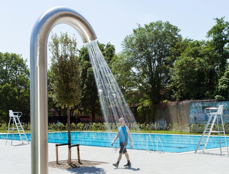 Noorderparkbad won vorig jaar de prijs voor het mooiste zwembad ter wereld Beeld Friso Keuris