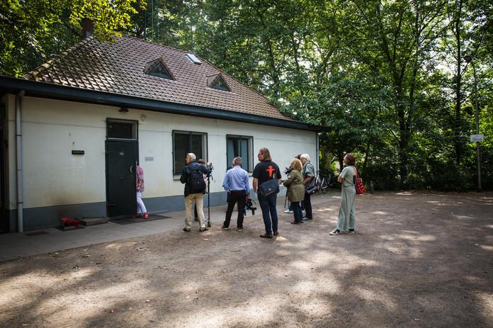 Onder dit paviljoen in het Citadelpark bevindt zich de bunker.