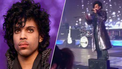 Prince-imitator dondert van podium. Zijn reactie is geweldig