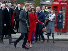 Britse hertogin Meghan Markle in april uitgerekend