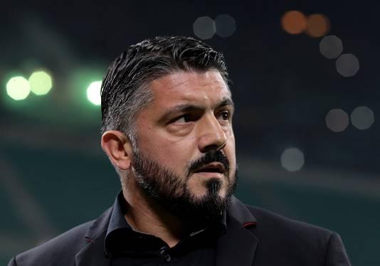Gennaro Gattuso ziet de bui al hangen.