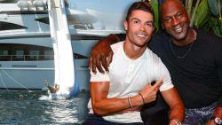 De peperdure vakantie van Ronaldo