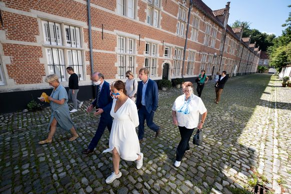 Minister Demir wou via haar bezoek aan Lier uitstapjes in eigen land promoten.