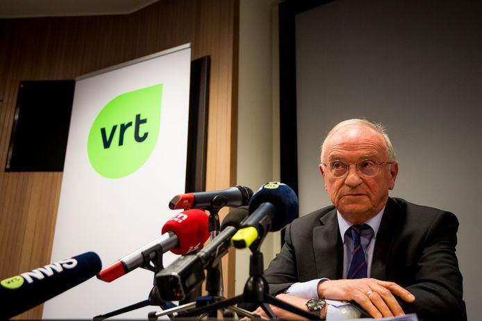 Archiefbeeld.  Luc Van den Brande, voorzitter van de raad van bestuur van de VRT.
