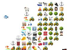 Gelderland in emoji's: kippen, campings en... Cuba?